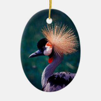 Wild nature ceramic ornament