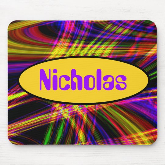 Wild Neon Psychedelic Mousepad
