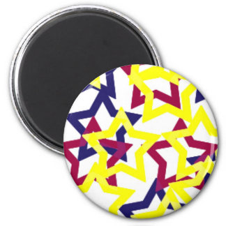 Wild Neon Stars Magnet