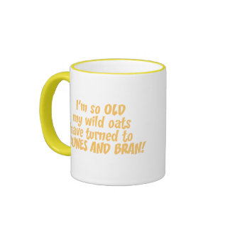 Wild Oats Ringer Coffee Mug