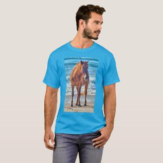 Wild ocean horse of Assateague t-shirt