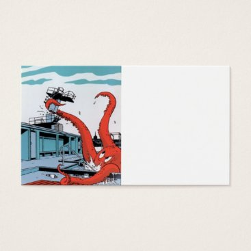 Professional Business Wild Octopus Business Card