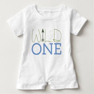 Wild One Baby Romper