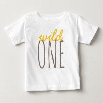 WILD ONE BABY T-SHIRT
