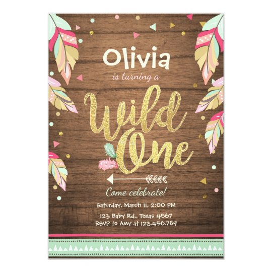 Girl Birthday Invitations Announcements – Girl Photo Birthday Invitations
