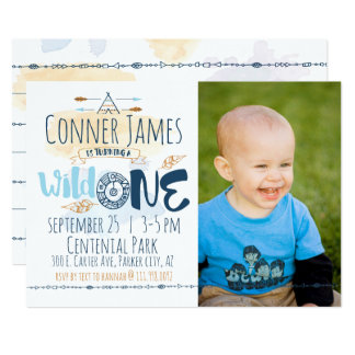 Girl First Birthday Invitations Announcements Zazzle - Birthday invitation for one year baby