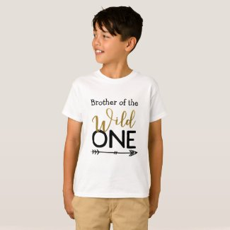 Wild One Brother Tshirt