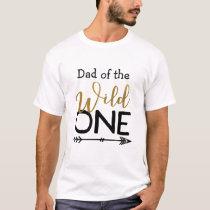 Wild One Dad T-shirt