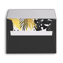 Wild One Envelope Jungle Animals Party