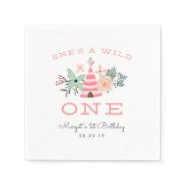 Wild One | First Birthday Party Napkin