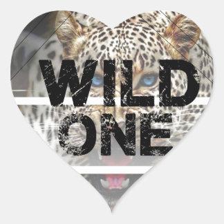 wild one.jpg heart sticker
