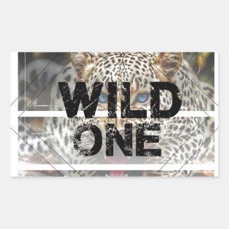 wild one.jpg rectangular sticker