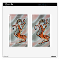 Wild One Lady Tiger Original Skin For Kindle Fire