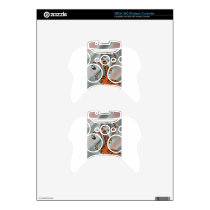 Wild One Lady Tiger Original Xbox 360 Controller Decal