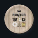"Wild One Paper Plate 7&quot; King Of The Wild<br><div class=""desc"">Wild One Paper Plate 7&quot; 