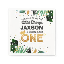 Wild One Party Napkin Wild Things Party