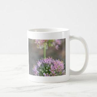Wild Onion Blooms Classic White Coffee Mug