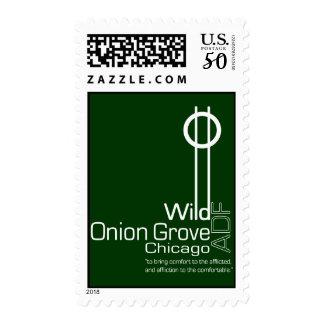 Wild Onion Grove Sigil Logo Postage Stamps