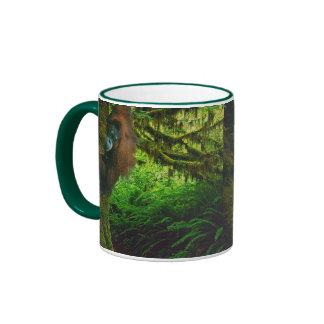 Wild Orangutan & Rainforest Wildlife-supporter Mug