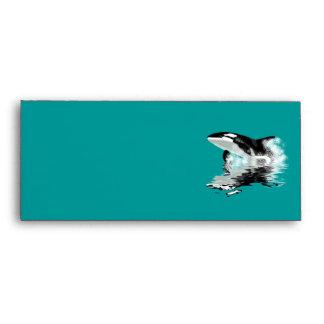 WILD ORCA Postal Envelope