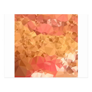 Wild Orchid Abstract Low Polygon Background Postcard