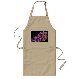 wild orchid long apron