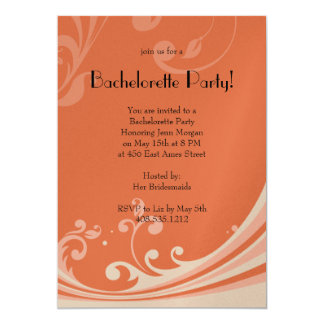 "Wild Ornate 5"" X 7"" Invitation Card"