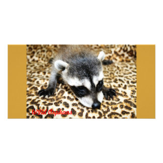 Wild Orphans Photo Greeting Card