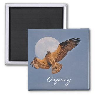 Wild Osprey & Super Moon Photo Design Magnet