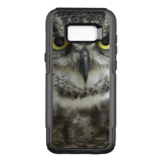 Wild Owl Close up Photograph OtterBox Commuter Samsung Galaxy S8+ Case