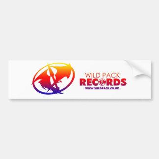 Wild Pack Records Bumper Sticker