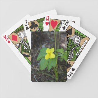 Wild Pansy aka Johnny Jump Up Bicycle Playing Cards