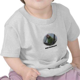 Wild parrot #2 tee shirts