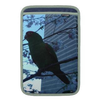 Wild Parrot at dusk MacBook Sleeves