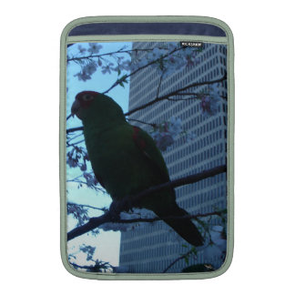Wild Parrot at dusk Sleeves For MacBook Air