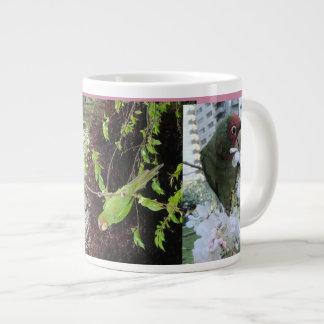 Wild Parrots of Telegraph Hill Large Coffee Mug