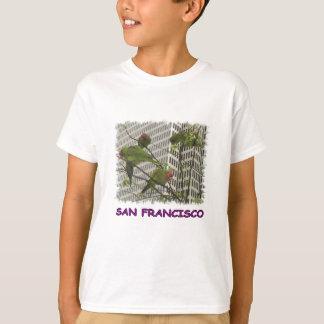 Wild Parrots of Telegraph Hill T-Shirt