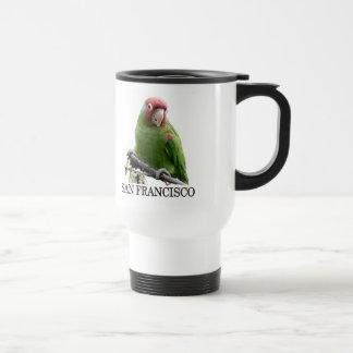 Wild Parrots of Telegraph Hill Travel Mug