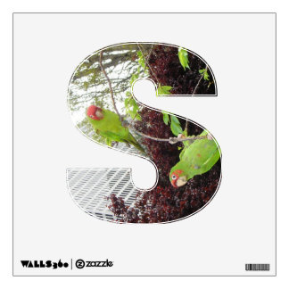 Wild Parrots of Telegraph Hill Wall Decal