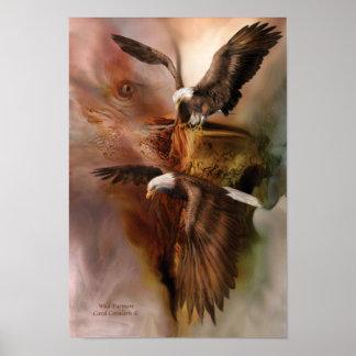 Wild Partners Eagle Art Poster/Print