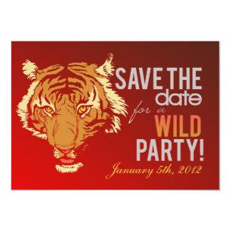 "Wild Party 5"" X 7"" Invitation Card"