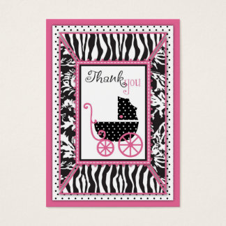 Wild Patchwork TY Notecard Business Card