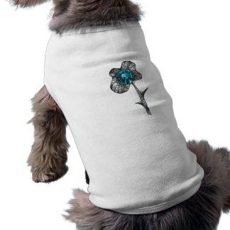 Wild Peace Flower Pet Tee Shirt