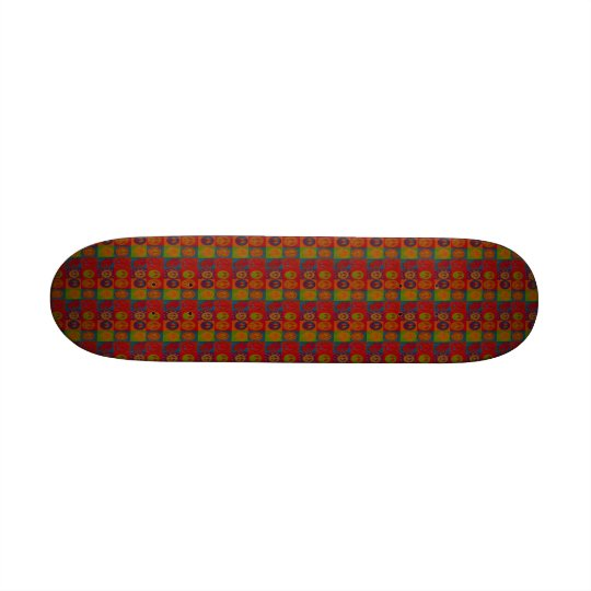 Wild Peace Signs ~ Skateboard Retro