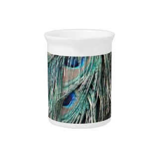 Wild Peafowl Feather Eyes Pitchers