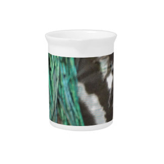 Wild Peafowl Feathers Drink Pitchers