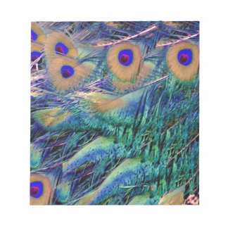 Wild Peafowl Notepad