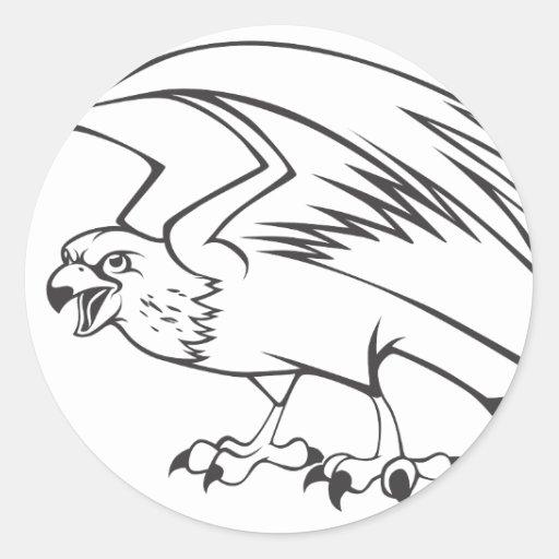 http://rlv.zcache.com/wild_peregrine_falcon_bird_in_black_and_white_sticker-r2d74e506fa434458b3d99722649e80b2_v9waf_8byvr_512.jpg