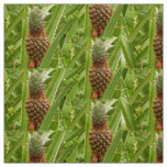 Wild Pineapple Tropical Fruit in Nature Fabric