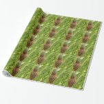 Wild Pineapple Tropical Fruit in Nature Wrapping Paper